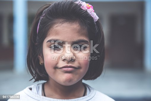 941782244 istock photo Portrait of a school girl smiling 941785226