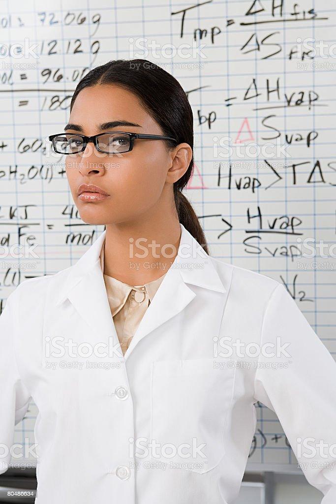 科学者のポートレート ロイヤリティフリーストックフォト