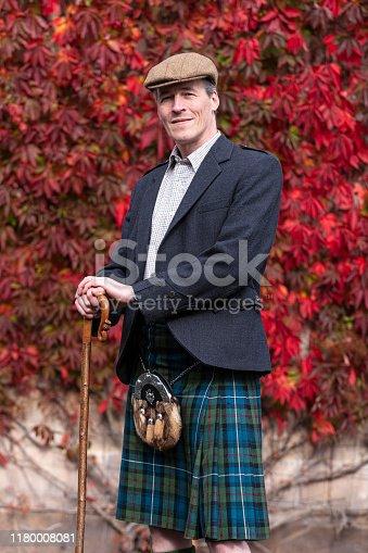 istock Portrait of a Scotchman 1180008081