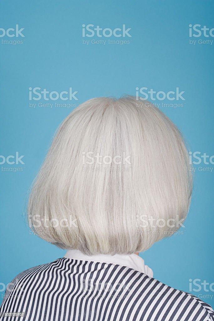 Porträt eines senior erwachsene Frau – Foto