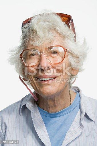 istock Portrait of a senior adult woman 537674177