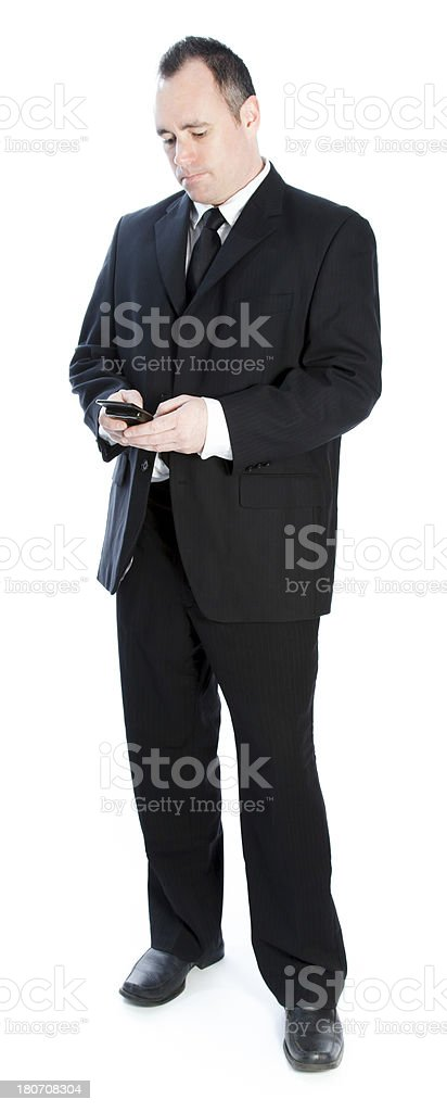 Portrait of a senior businessman royalty-free stock photo