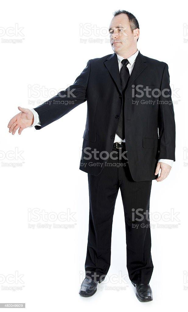 Portrait of a senior businessman royalty-free stock photo
