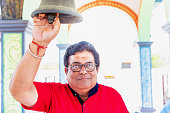 istock Portrait of a Senior Man at a Temple 1142369314