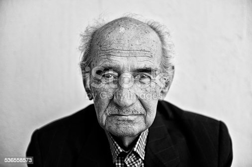 istock Portrait of a senior man 536558573