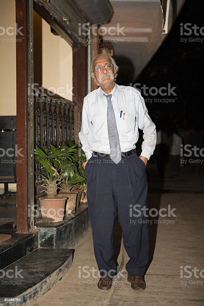 Portrait of a senior man 免版稅 stock photo
