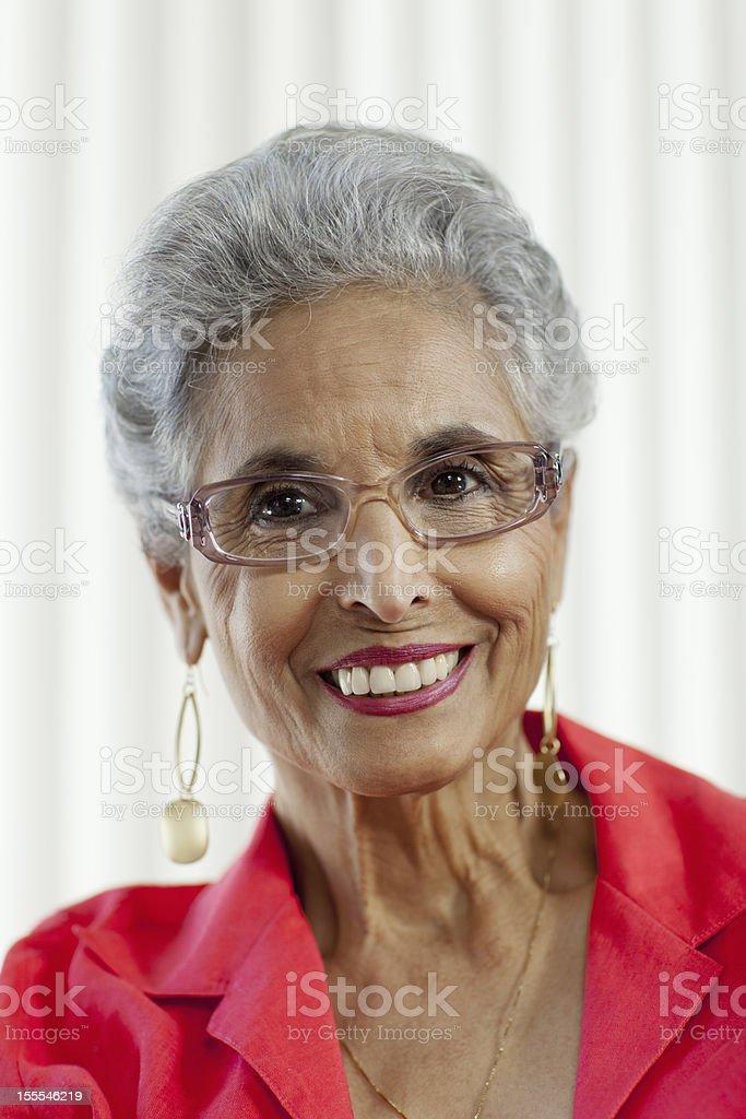 Portrait of a Senior royalty-free stock photo