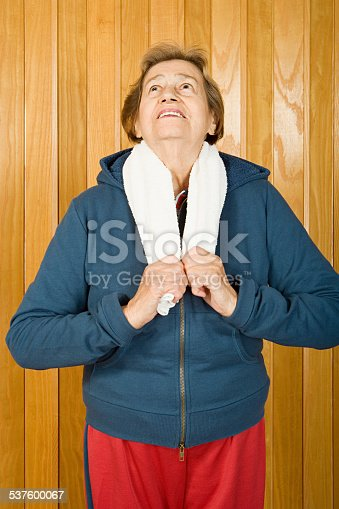istock Portrait of a senior woman 537600067