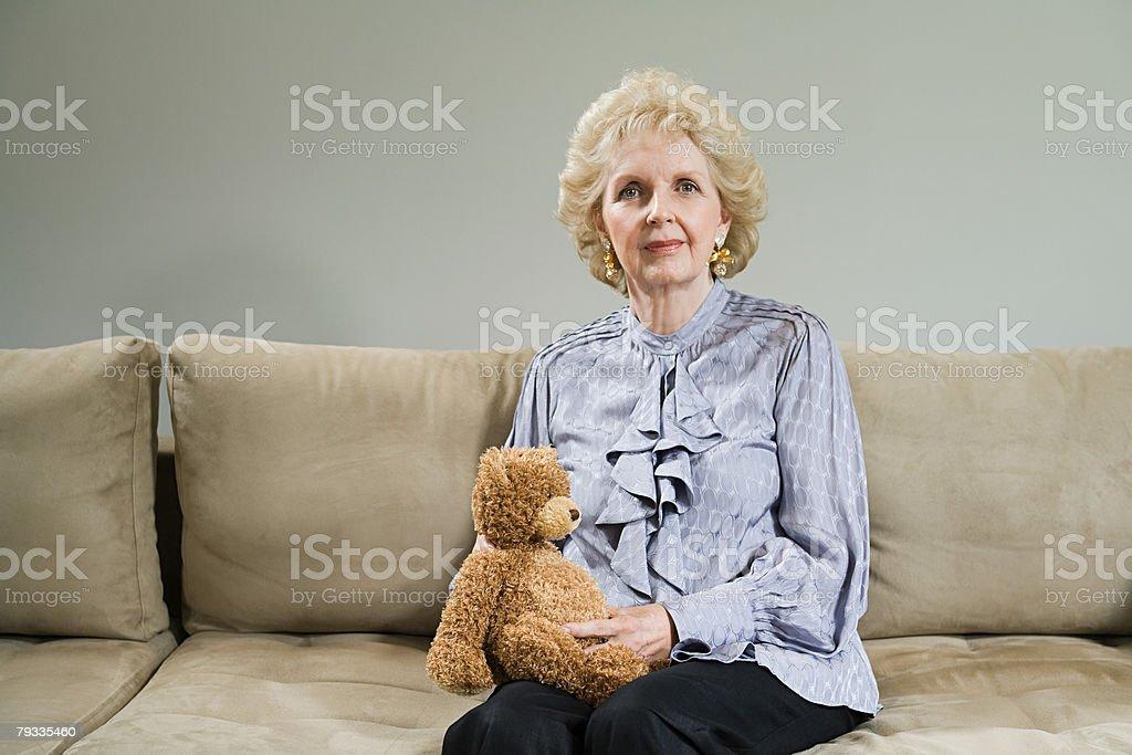 노인 여성 인물 사진 royalty-free 스톡 사진