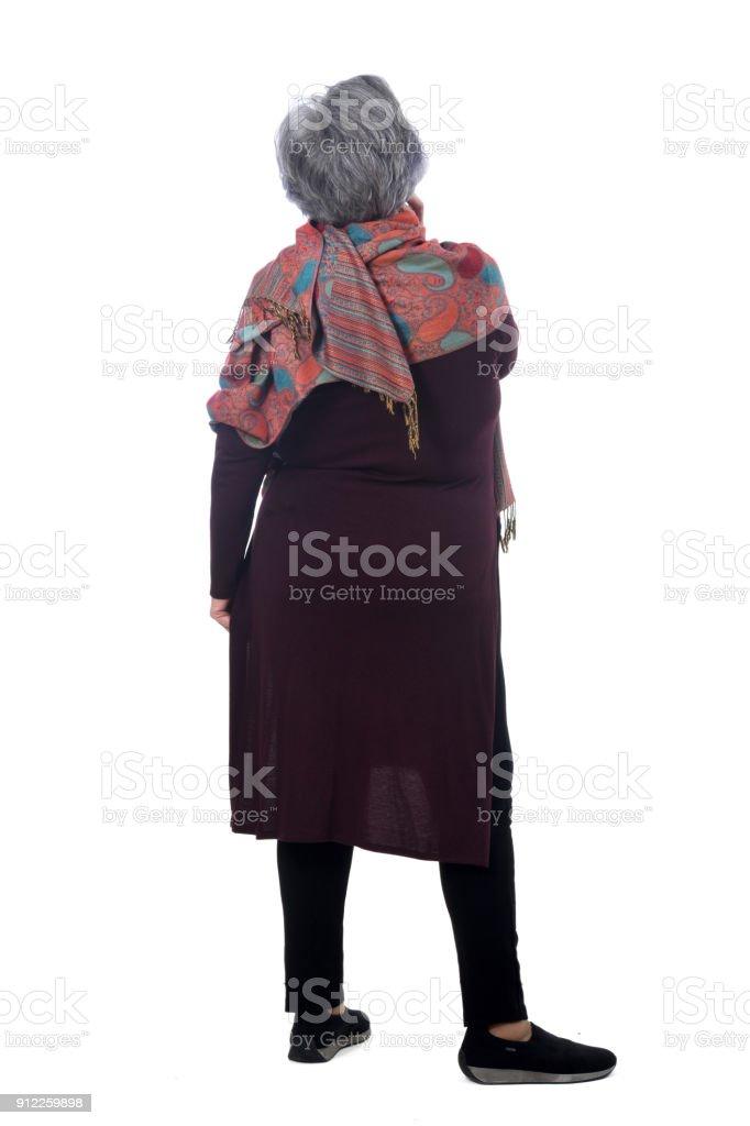 Porträt eines senior Frau – Foto