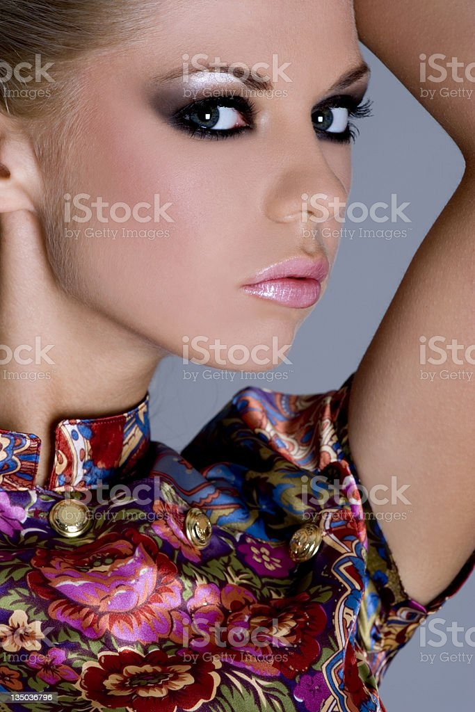 portrait of a sexy girl, fashion stock photo