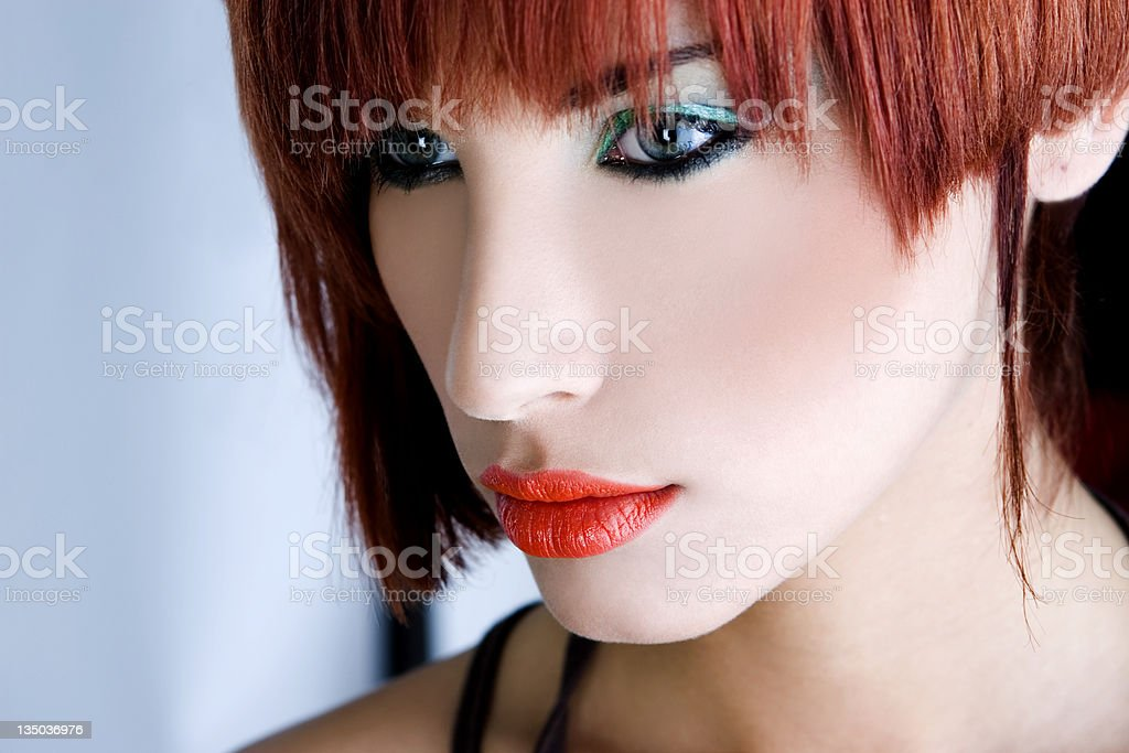 portrait of a sexy young woman royalty-free stock photo