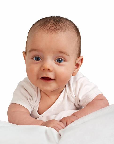 Retrato de un niño pequeño - foto de stock