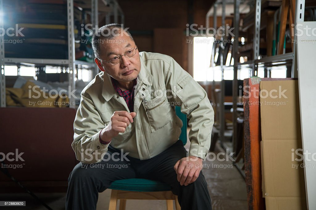 Portrait of a Small Business Owner圖像檔