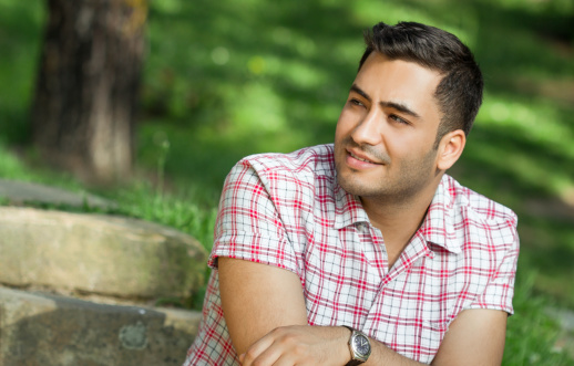 834639402 istock photo Portrait of a smile young man. 478255767