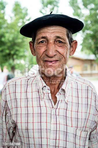 Portrait of a Argentine Gaucho, Buenos Aires province.