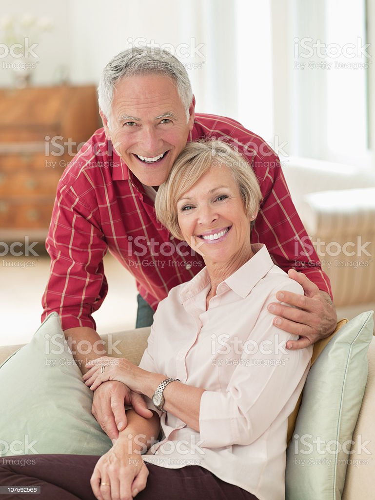 Portrait of a smiling couple spending time together royalty-free stock photo
