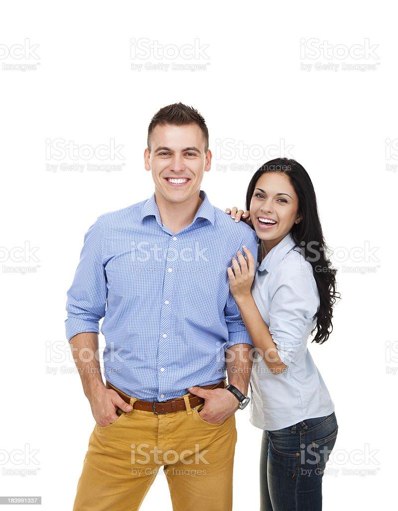 Glückliches Paar Lächeln – Foto