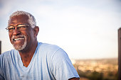 istock Portrait of a Smiling Senior Black Man 976789418