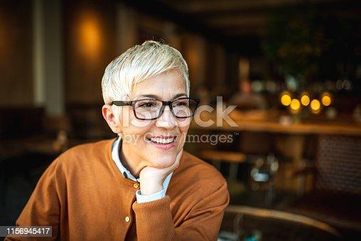 1044149594 istock photo Portrait of a smiling senior woman 1156945417