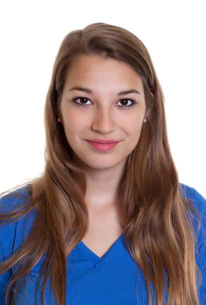 Portrait of a smiling woman in a blue shirt picture id515630181?b=1&k=6&m=515630181&s=612x612&w=0&h=dhbtad23d1jlxqpmwuvcvaxoex6k1dxinaw1bsr8zyk=