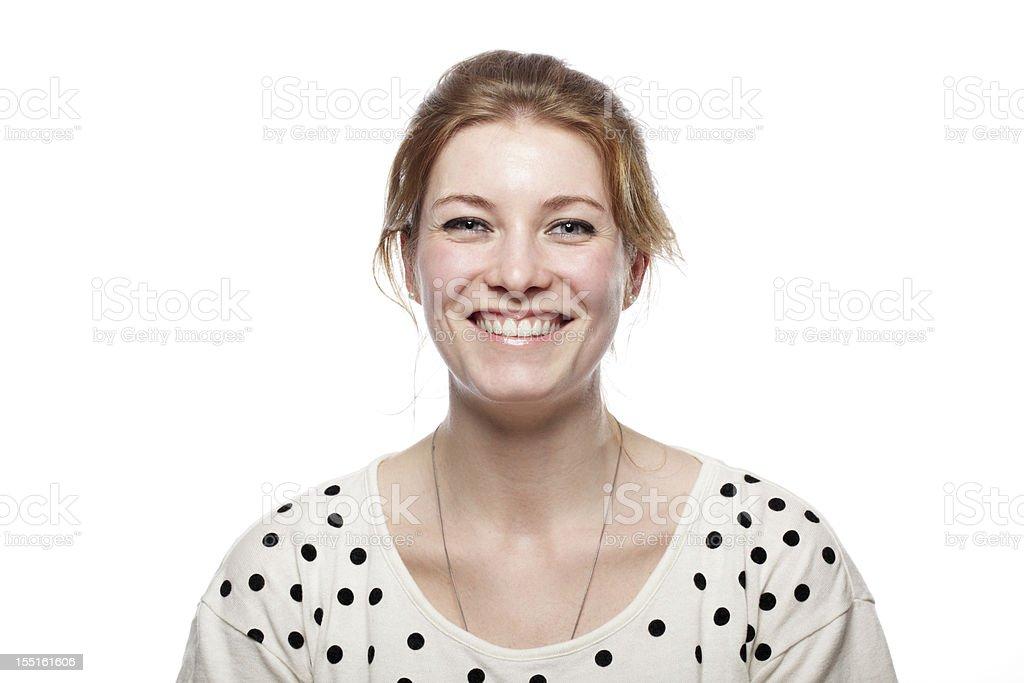 Portrait d'une femme souriante - Photo