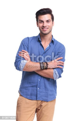 istock portrait of a smiling young casual man 513571639