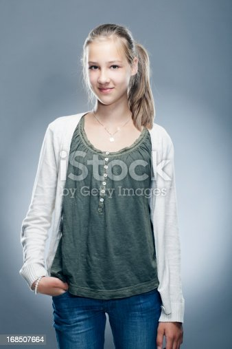 istock Portrait of a smiling young child 168507664