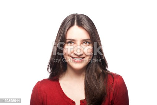 Portrait Of A Smiling Young Woman Stock Photo & More Pictures of 20-24 Years