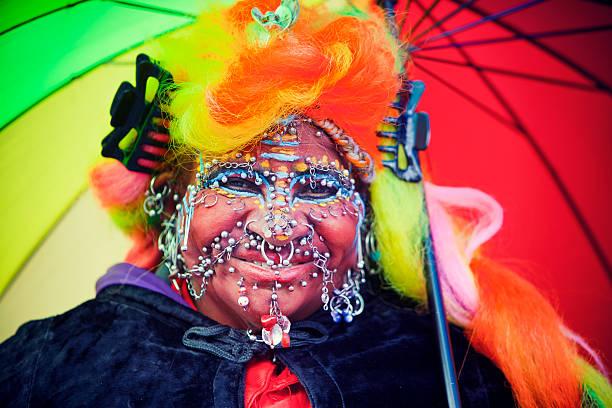 Portrait of a Street Entertainer