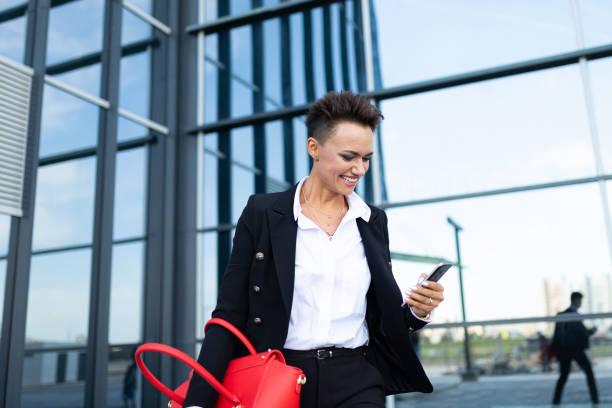 Portrait of a successful businesswoman, female professional stock photo