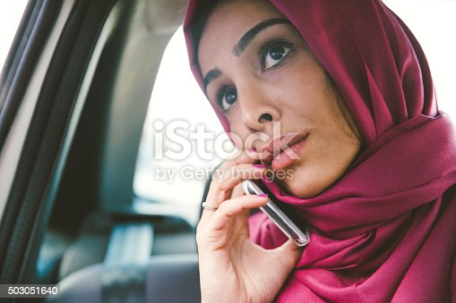 istock Portrait Of A Successful Businesswoman On The Phone 503051640