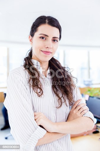 682363912istockphoto Portrait of a successful businesswoman 686590654