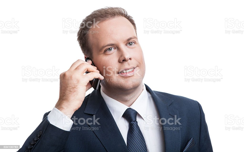Portrait of a successful employee stock photo