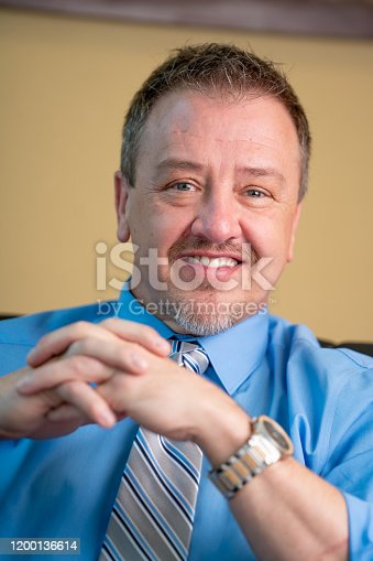 1040964880 istock photo Portrait of a Successful Middle-Aged Man in Business Attire 1200136614