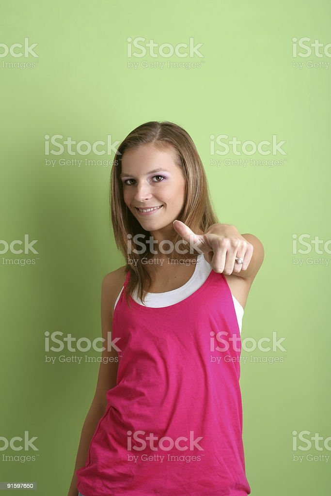 portrait of a successful woman royalty-free stock photo