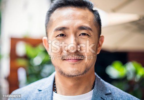 Portrait of a Taiwanese man.