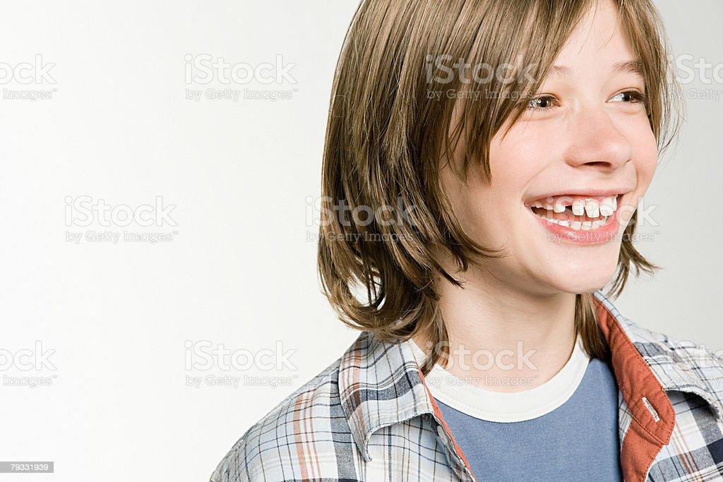 ポートレート、10 代の少年 ロイヤリティフリーストックフォト
