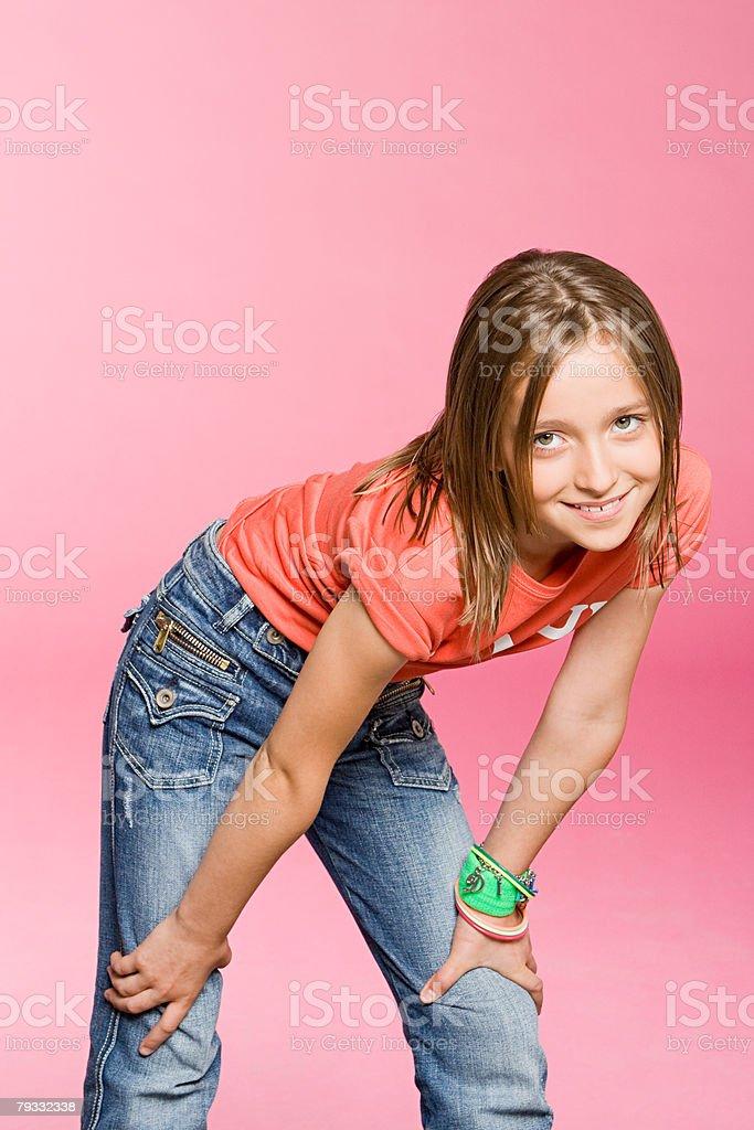 인물 사진 10대 여자아이 royalty-free 스톡 사진