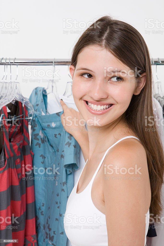 Portrait of a teenage girl 免版稅 stock photo