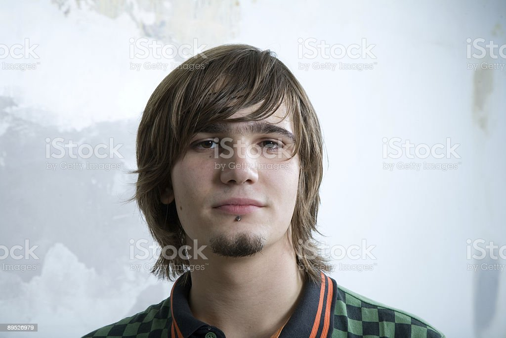 Portrait of a teenager royalty-free stock photo