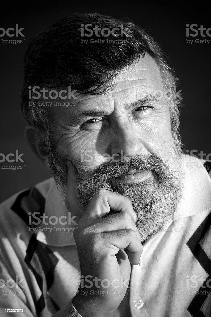 Portrait of a Turkish man royalty-free stock photo