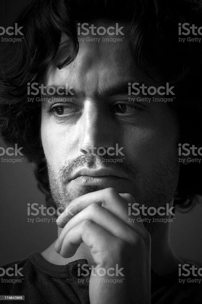 Portrait of a Turkish man. royalty-free stock photo