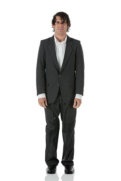 Portrait of a wet businessman Portrait of a wet businessman wet hair stock pictures, royalty-free photos & images