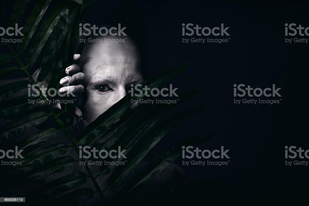 Portrait of a white human – Foto