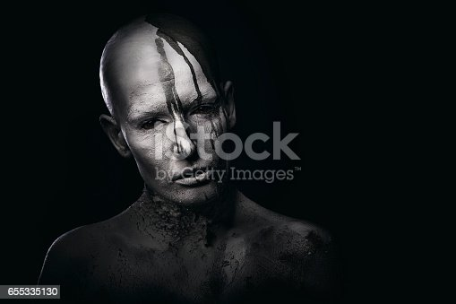 istock Portrait of a white human 655335130