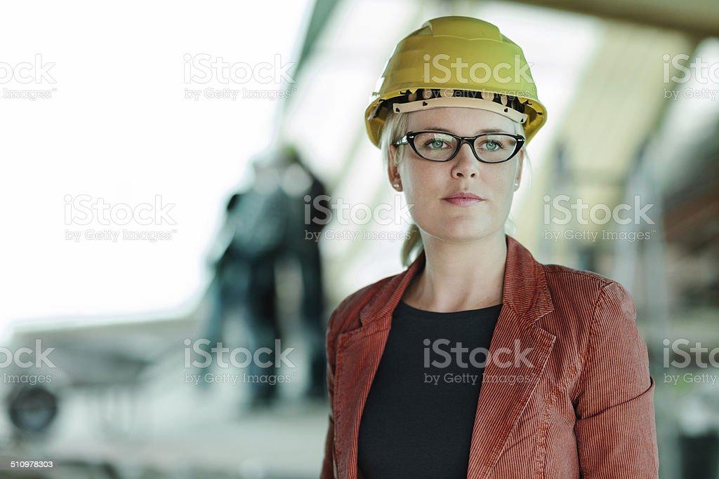 Porträt einer Frau Architekt – Foto