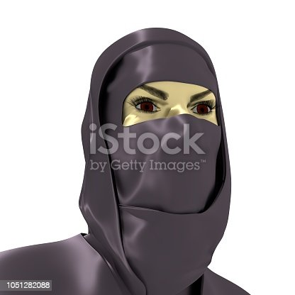istock Portrait of a woman 1051282088
