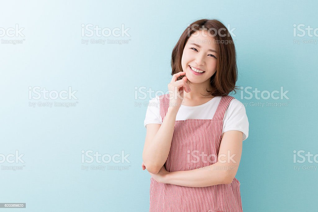 Retrato de uma mulher foto de stock royalty-free