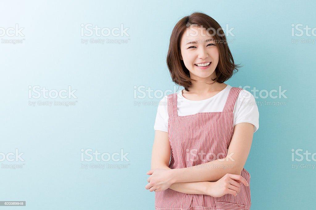 Portret kobiety  zbiór zdjęć royalty-free